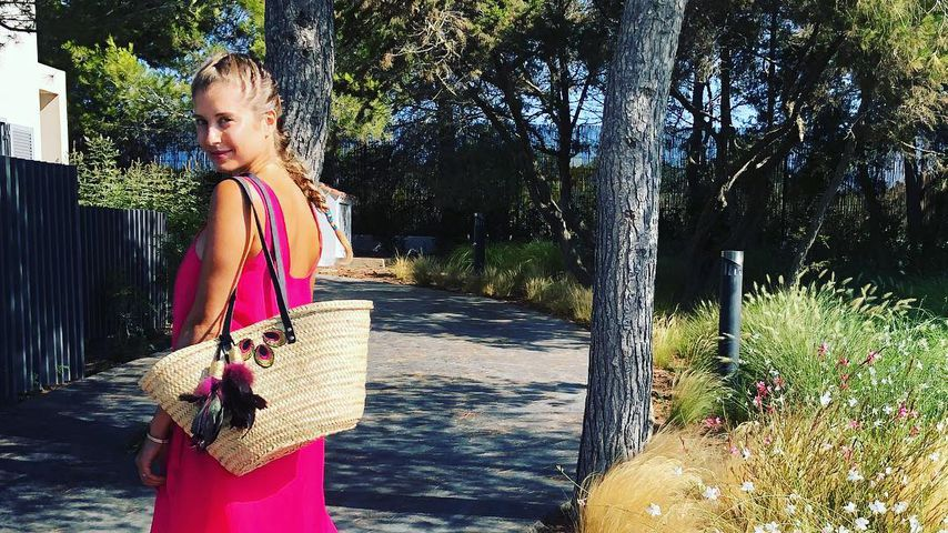 Pretty in Pink: Fans lieben Cathy Hummels' Sommer-Look