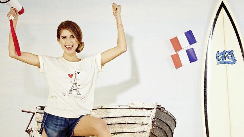 Endlich offiziell: Cathy Hummels designt EM-Fan-Shirt