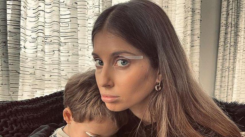Cathy Hummels besorgt: Ihr Sohn Ludwig (3) hat Atemprobleme