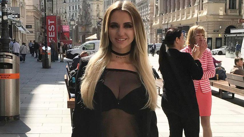 Sie ist zurück: Cathy Lugner im heißen Party-Outfit in Wien!
