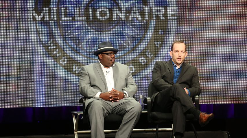 "Ex-Moderator Cedric the Entertainer und Produzent Rich Sirop von ""Who Wants To Be A Millionaire?"""