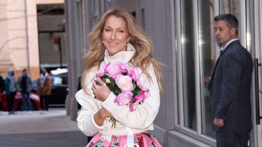 Celine Dion in New York, März 2020