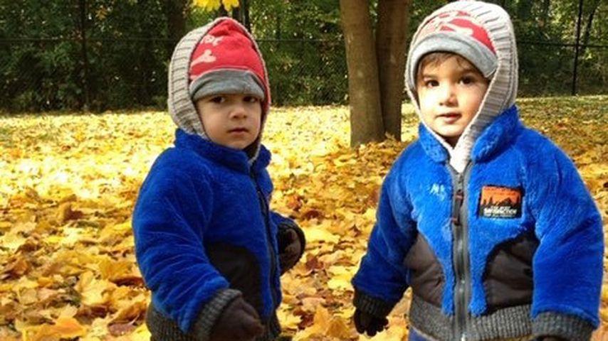 Celine Dions Söhne Nelson und Eddy