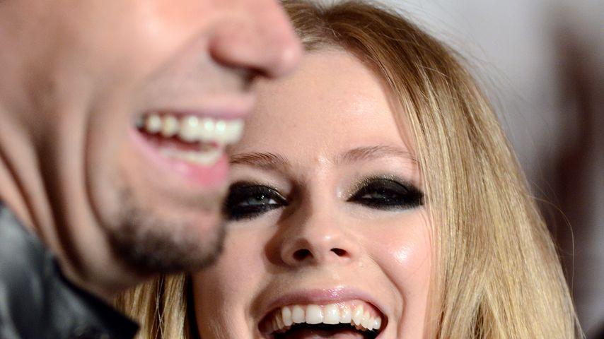 Chad Kroeger und Avril Lavigne 2013