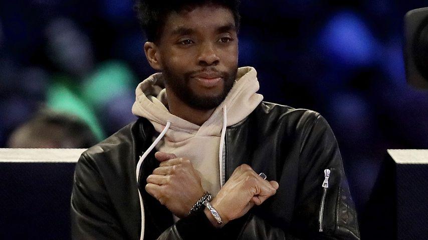 Chadwick Boseman bei einem NBA-Event in Chicago im Februar 2020