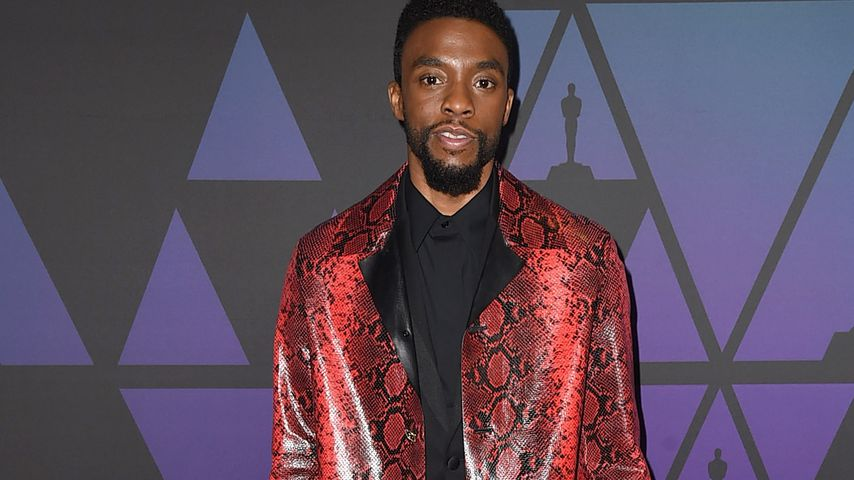 Chadwick Boseman bei den Governors Awards in Hollywood im November 2018