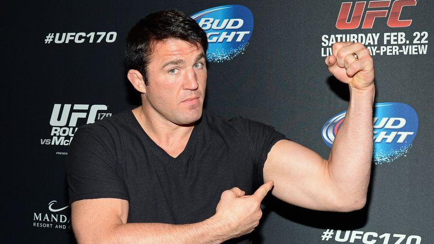 Chael Sonnen beim UFC 170 in Las Vegas