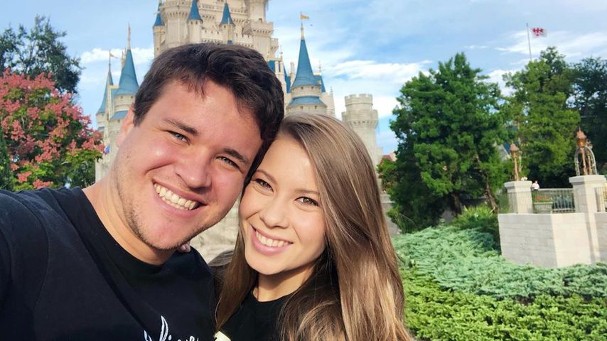 Chandler Powell und Bindi Irwin im Disneyland Florida
