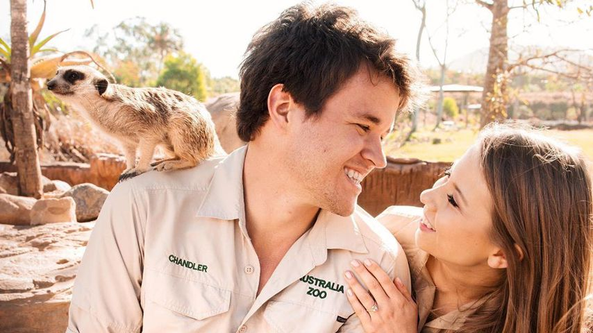 Chandler Powell und Bindi Irwin im Juni 2020