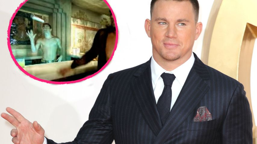 "Gewusst? Channing Tatum tanzte in Ricky Martins ""She Bangs"""