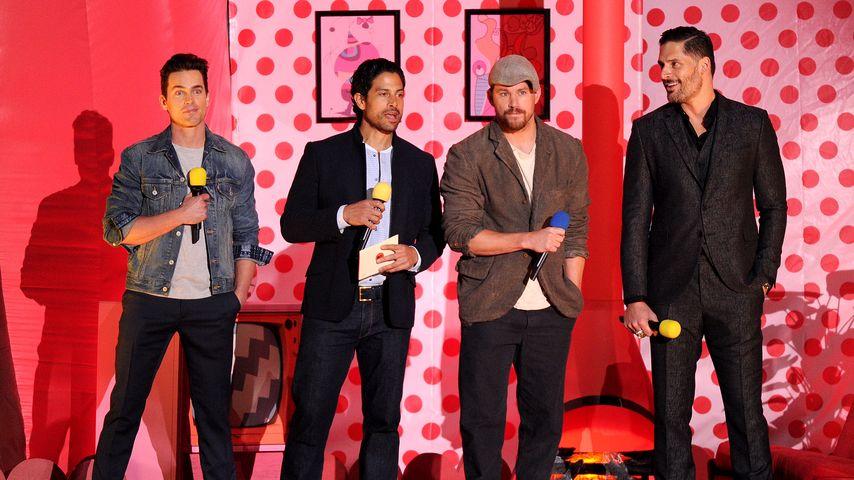 Joe Manganiello, Channing Tatum, Matt Bomer und Adam Rodriguez