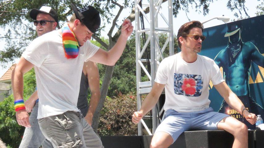 Channing Tatum: Heiße Tanzeinlage auf Homo-Festival