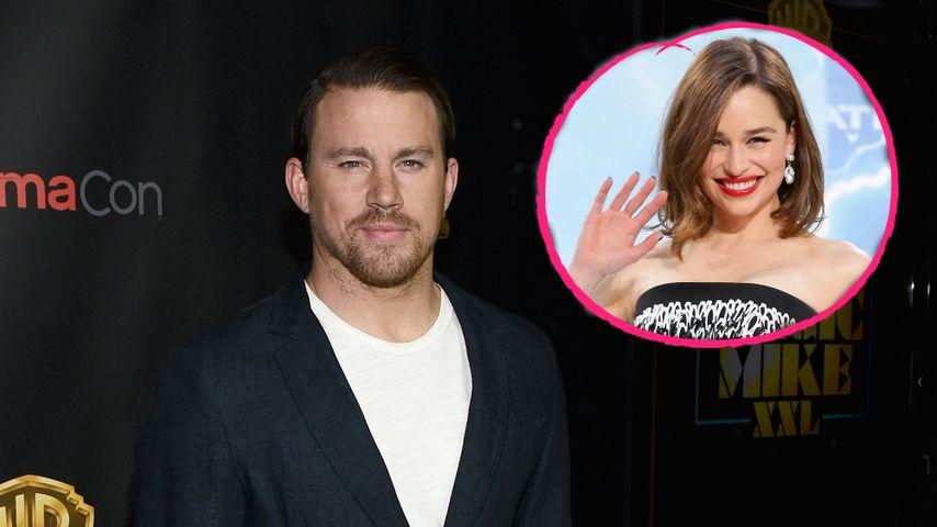 Sex-Angebot von Emilia Clarke: Jetzt reagiert Channing Tatum