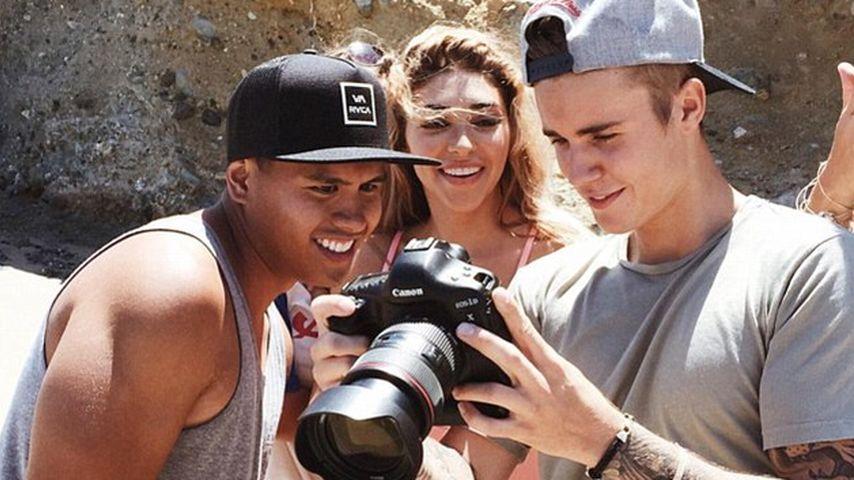 Chantel Jeffries und Justin Bieber