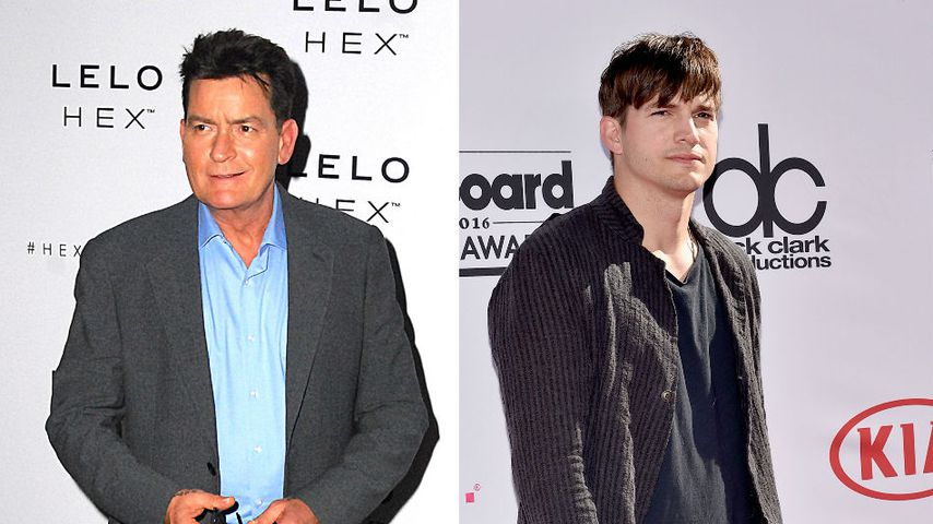 Späte Reue: Charlie Sheen bedauert Diss gegen Ashton Kutcher