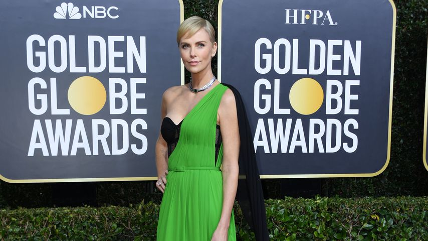 Charlize Theron bei den Golden Globes 2020