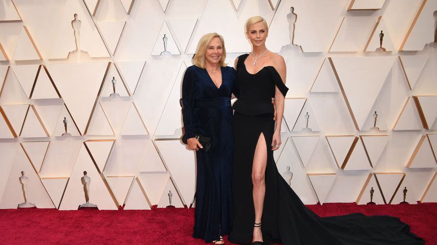 Charlize Theron und ihre Mama Gerda Maritz