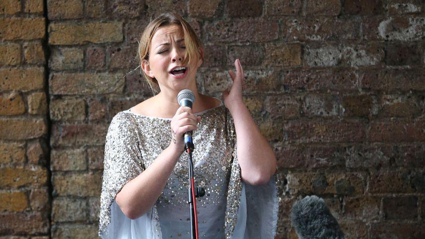 Charlotte Church bei einer Performance in London 2015
