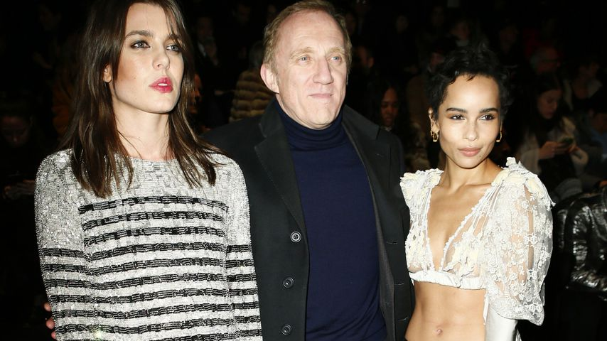 Charlotte Casiraghi, Francois Pinault und Zoe Kravitz auf der Paris Fashion Week 2018