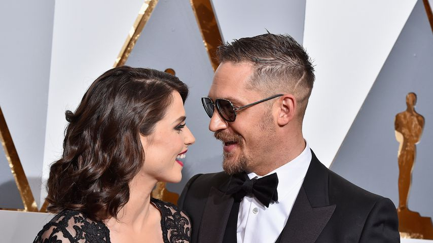 Charlotte Riley und Tom Hardy bei dern Oscars 2016
