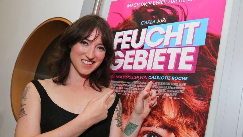 """Charlotte Roche bei der Premiere von """"Feuchtgebiete"""" in der Wiener Urania 2013"""