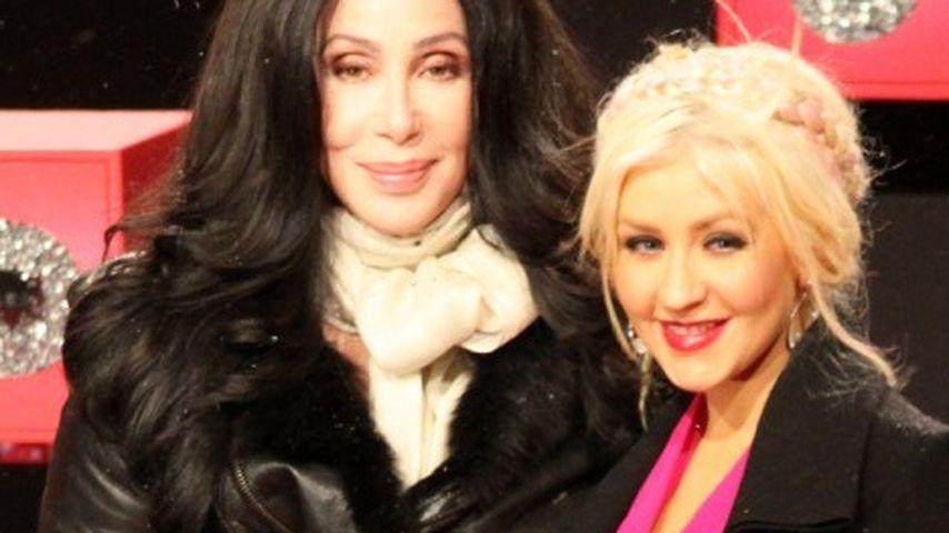 Christina Aguilera und Cher