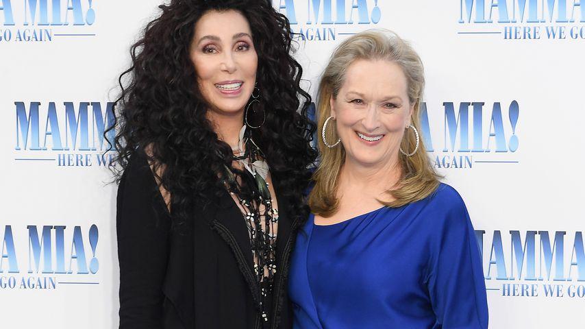 Cher und Meryl Streep