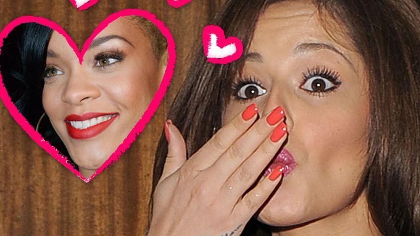 Cheryl Cole ist ganz verliebt in Rihanna
