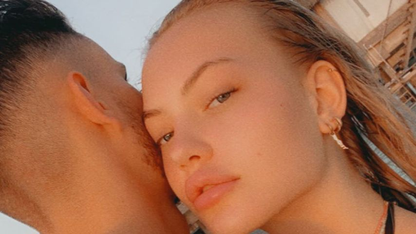 Cheyenne Ochsenknecht (r.) mit ihrem Freund