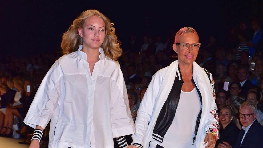 Cheyenne Ochsenknecht und Natascha Ochsenknecht bei der Berlin Fashion Week 2016