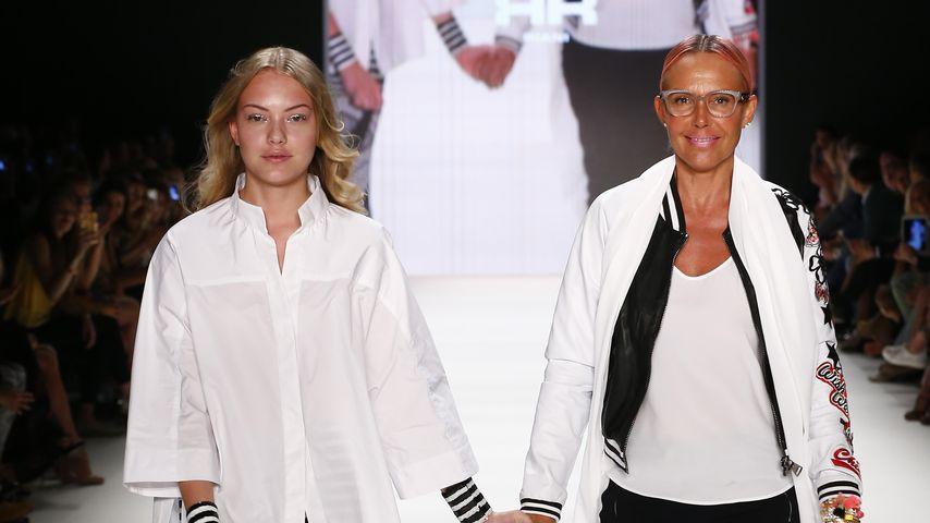 Cheyenne und Natascha Ochsenknecht auf der Berlin Fashion Week 2017