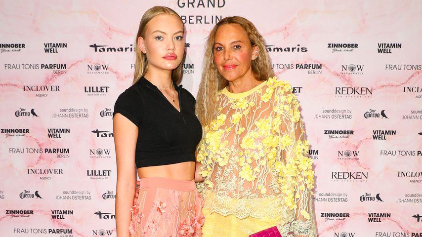 Cheyenne und Natascha Ochsenknecht bei der Berlin Fashion Week, 2019
