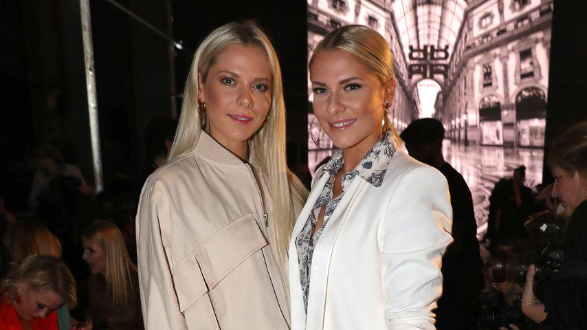 Cheyenne und Valentina Pahde im Januar 2020 während der Berlin Fashion Week