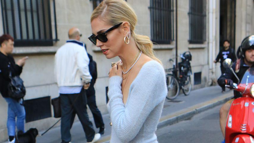 Chiara Ferragni in Paris