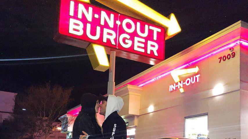 Chiara Ferragni und Fedez vor In-N-Out-Burger