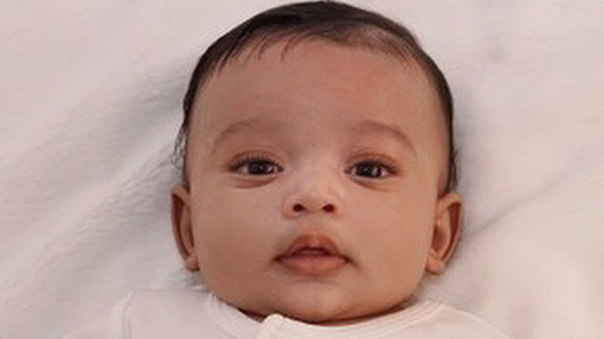 Kim Kardashian und Kanye Wests Tochter Chicago