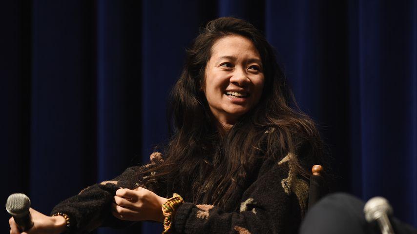 Regisseurin Chloe Zhao im April 2018