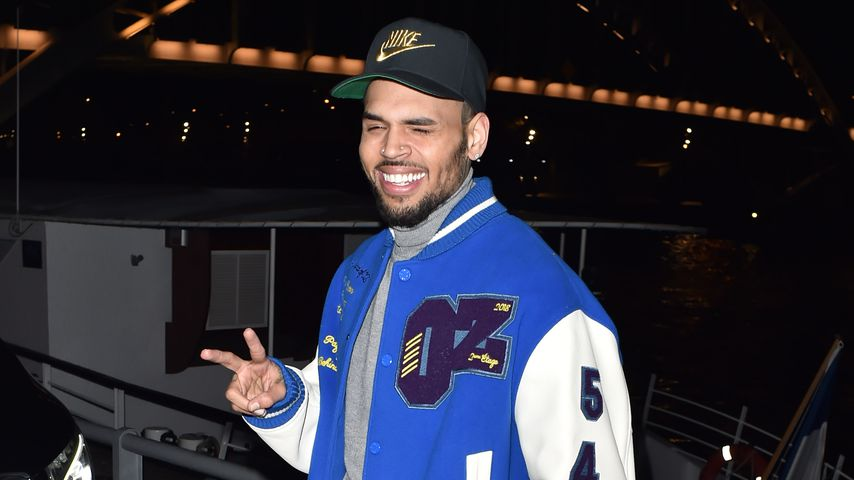 Chris Brown in Paris