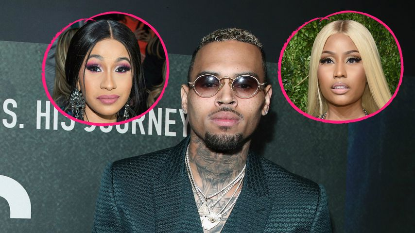 Gegen Versöhnung: Chris Brown liebt Cardi & Nickis Rap-Beef