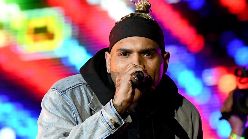 Chris Brown im April 2019 in Virginia Beach