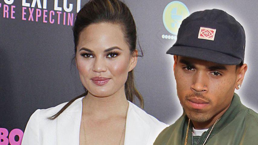 Chris Brown-Fans: Morddrohungen an Bikini-Model