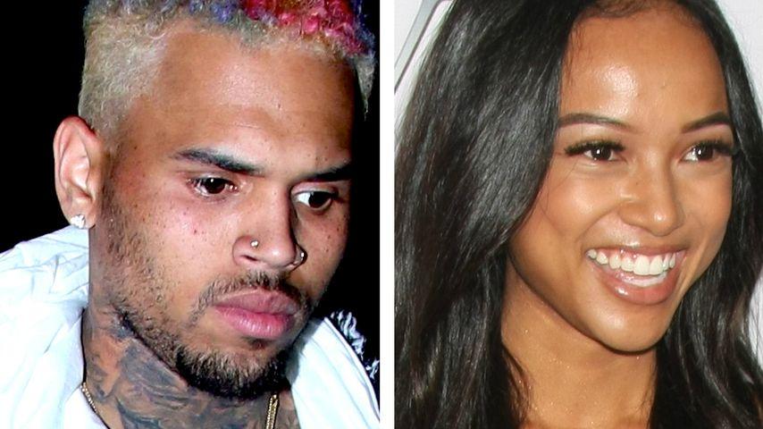 Chris Brown zu schüchtern? Karrueche lässt ihn abblitzen
