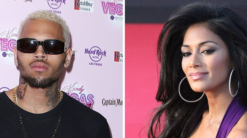 Affäre: Küsste Chris Brown Nicole Scherzinger?