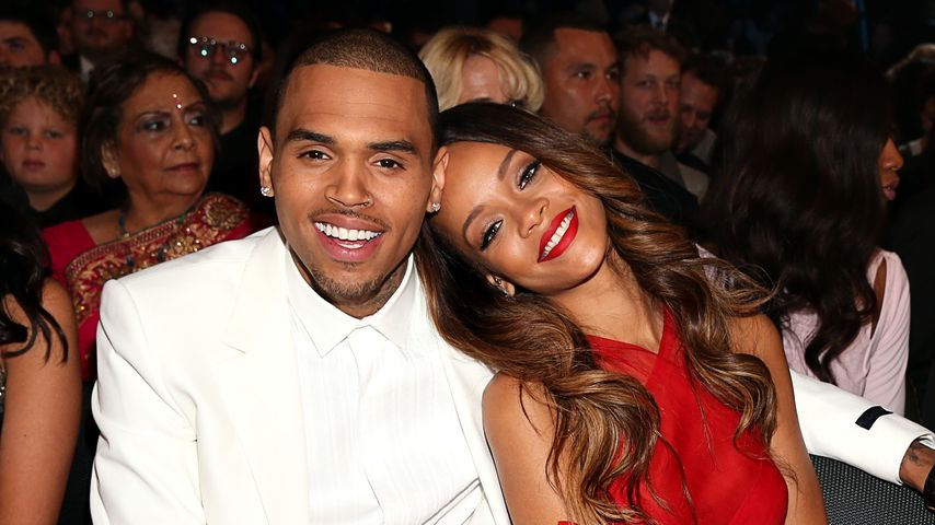 Chris Brown und Rihanna bei den Grammy Awards 2013 in Los Angeles