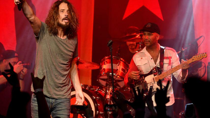 Chris Cornell und Tom Morello bei einem Auftritt von Audioslave