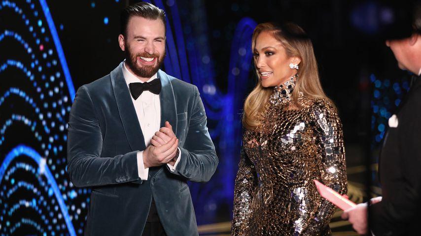 Insgeheim verliebt: Chris Evans steht auf Jennifer Lopez