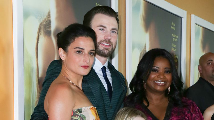 """Chris Evans und Jenny Slate bei der """"Gifted""""-Premiere in L.A."""