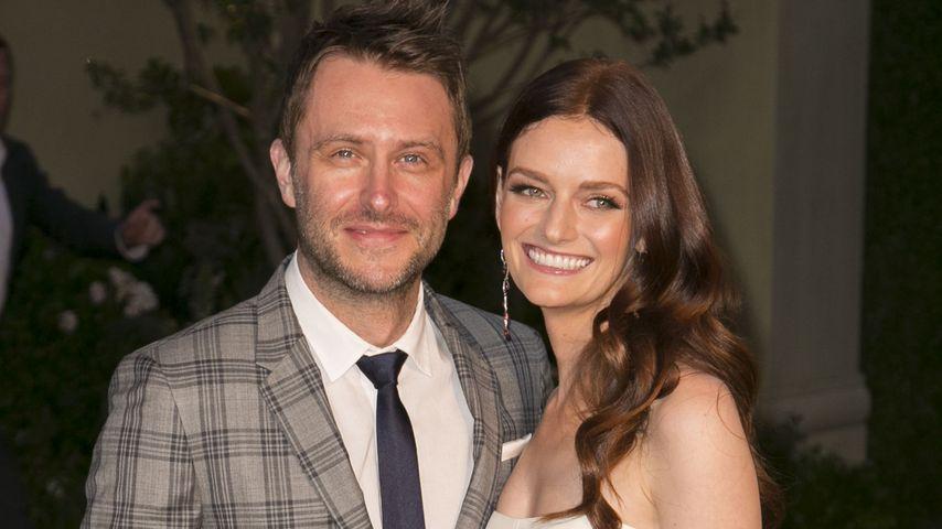 Mega Hochzeit: Chris Hardwick & Lydia Hearst unter der Haube
