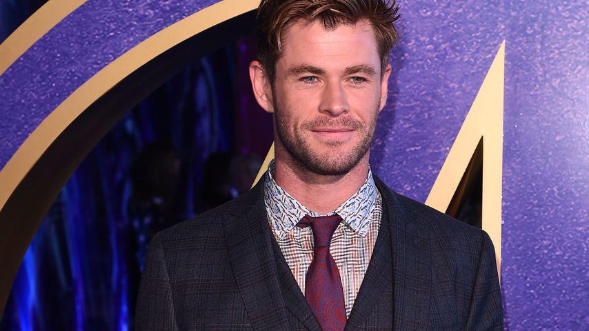 Chris Hemsworth vermietete für ersten Job Brustpumpen