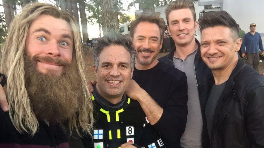 """Neue Bilder: So geht es hinter den """"Avengers""""-Kulissen zu!"""